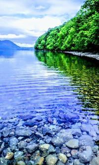 2011.6.15 支笏湖.初夏 - river side