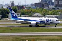 2017伊丹空港 その6 2機のANA B787-8 - 南の島の飛行機日記
