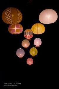 The LAMP 〜 ねぶたらんぷ@「和のあかり×百段階段展~日本の色彩 日本の意匠~」 - カメラをもってふらふらと