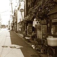 トタンに郷愁 by 昭和の町 - 三恵 poem  art