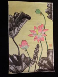 蓮の花・・・No7. - 嵐山ハイブリッド美術館日記