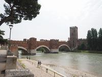 スカリジェロ橋とカステルヴェッキオ@ヴェローナ - アリスのトリップ