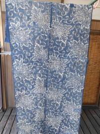2巾刺し終わりました「2枚目は根をつめました)現在製作中・・丁子紋の布 - 藍ちくちく日記