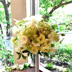 ☆夏のウエディング☆ - 金子ゆか・花ブログ