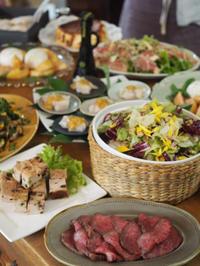 9月のレッスンスケジュール♬ & ケチケチ贅沢日記 - 8階のキッチンから   ~イタリア料理教室のことetc.~