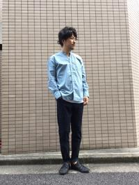 人気のバンドカラーシャツの新作が入荷! - AUD-BLOG:メンズファッションブランド【Audience】を展開するアパレルメーカーのブログ