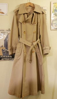 Celine 70's trench coat - carboots