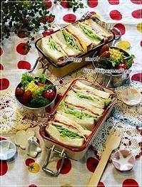 桃酵母・角食パンでミックスサンド弁当と伊豆旅行日記③♪ - ☆Happy time☆