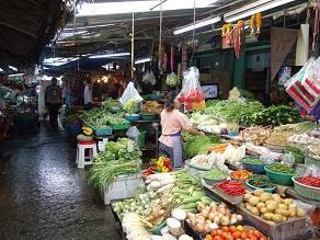 カオサン野菜生活&香港ヌードルのサオバオ - kimcafeのB級グルメ旅