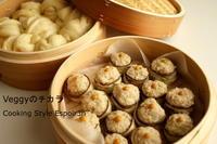 Veggyのチカラお料理レッスン9月の茄子焼売と自家製酵母花巻 - 自家製天然酵母パン教室Espoir3n(エスポワールサンエヌ)料理教室 お菓子教室 さいたま