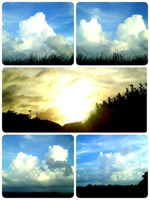 今日は雲の日。 - なんくるないさ~、ワンッ!!