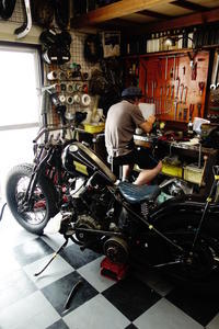 月・火曜日の授業風景 - Vintage motorcycle study
