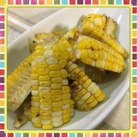 おやつに、おつまみに・・・とうもろこしの簡単フライパン焼き(レシピ付) - kajuの■今日のお料理・簡単レシピ■