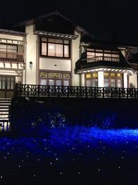 夏休み絵日記「長谷の灯かり」 - 海の古書店
