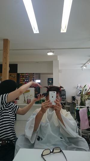 カット - COZY COZY HAIR のコジコジな部屋