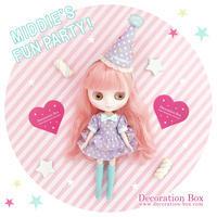 8/27(日) Middie's Fun Party! @Junie Moon大阪 販売作品☆ - Decoration Box