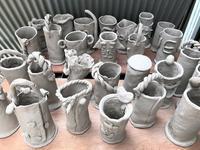 【花・瓶・軍・団 🌻】 - 出張陶芸教室げんき工房
