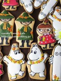 アイシングクッキー * ムーミンたち - nanako*sweets-cafe♪