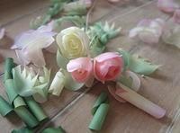 小さなローズ - handmade flower maya