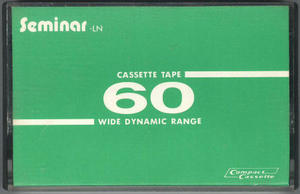 Seminar LN - カセットテープ収蔵品展示館