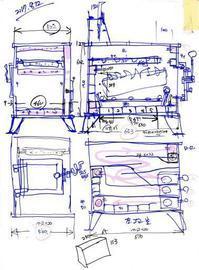 薪ストーブ2号 - 金属造形工房のお仕事