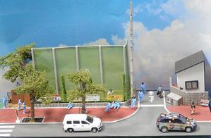 道路のジオラマを作る(5)~完成 - 【趣味なんだってば】 鉄道模型とジオラマの製作日記