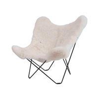Bonet Kurchan Ferrari...Butterfly Chair...大人気のBKF CHAIRにモフモフのシープスキンが仲間入りです♪ - GLASS ONION'S BLOG