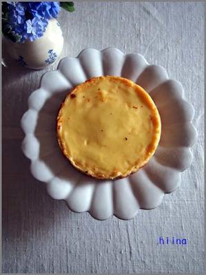 チーズケーキと処暑と梨 - ちりめん戯縫