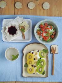 フルーティー朝ごはん - 陶器通販・益子焼 雑貨手作り陶器のサイトショップ 木のねのブログ
