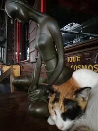猫と仏像 - あじあにすんではたらいてたべてのんで、たまにねこ