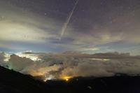 遠雷と飛行機雲 - **photo cafe**
