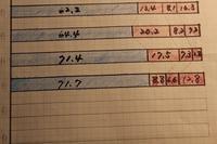 青と赤 8月集計結果 - これが、わが家の家計簿です
