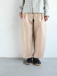 ASEEDONCLOUD HW wide trousers - 『Bumpkins putting on airs』