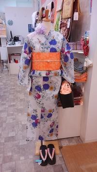 【浴衣20%OFF】本日の店頭の浴衣コーディネイト♪ - Tokyo135° sannomiya