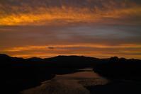 16.5℃でヒンヤリの朝・・・昨日、夕景がキレイでしたヨ    朽木小川・気象台より - 朽木小川・気象台より、高島市・針畑郷・くつきの季節便りを!