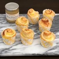 レモン香る・・ふんわりクリームロールパン☆ - パンのちケーキ時々わんこ