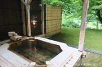 ◆ 復興の東北へ、その17 「夏瀬温泉 都わすれ」へ 専用露天風呂編 (2017年6月) - 空と 8 と温泉と
