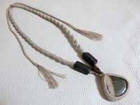 【マクラメ&ヘンプ】#151 ジャスパーづくしのネックレス - Shop Gramali Rabiya (SGR)