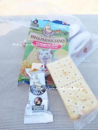 """No.4""""チーズのおやつ♪④@塩なしクラッカーと"""" ~ ローマ近郊の小さな小さな海沿いの村から♪ 2017 ~ - 「ROMA」旅写ライターKasumi@在ローマがつづる、最新!ローマあれこれ♪"""