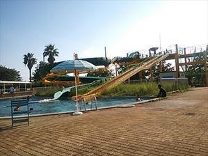 玉名市桃田運動公園市民プール - tekotanのあしあと