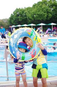 夏だ!プールだ! - 息子と写真がすき。