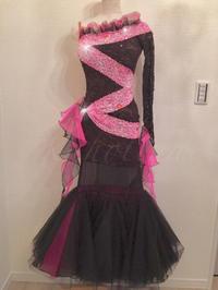 ●Dress for Rent*スタンダードドレス(黒&ピンク) - 元バレリーナのOL的日常