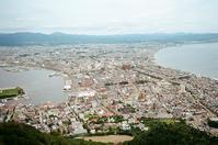 函館山と高田屋通り護国坂 - 照片画廊