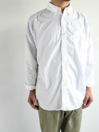 Sans limite BUTTON DOWN SHIRT - FREEDOM SLEEVE / TRIPLE NEEDLE - 『Bumpkins putting on airs』