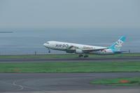 HND - 208 - fun time (飛行機と空)