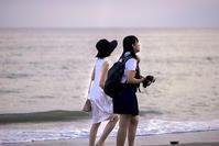 浜辺を歩く人々(3) - 一人の読者との対話