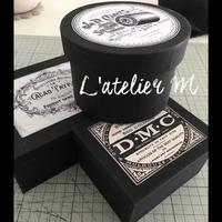 アンティークな雰囲気の紙箱 - L'atelier M~Singapore