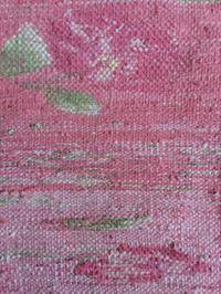近鉄文化サロン阿倍野 新講座 「手織りでリメイク 古布とはぎれの裂き織り」 - 手染めと糸のワークショップ