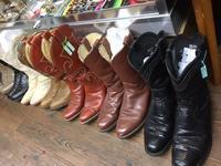 残暑ざんす(゜.゜) - 上野 アメ横 ウェスタン&レザーショップ 石原商店
