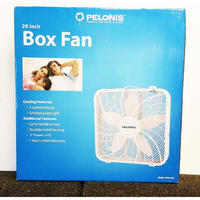 PELONIS Box Fan 入荷しました! - Knotts Berry  open 準備!